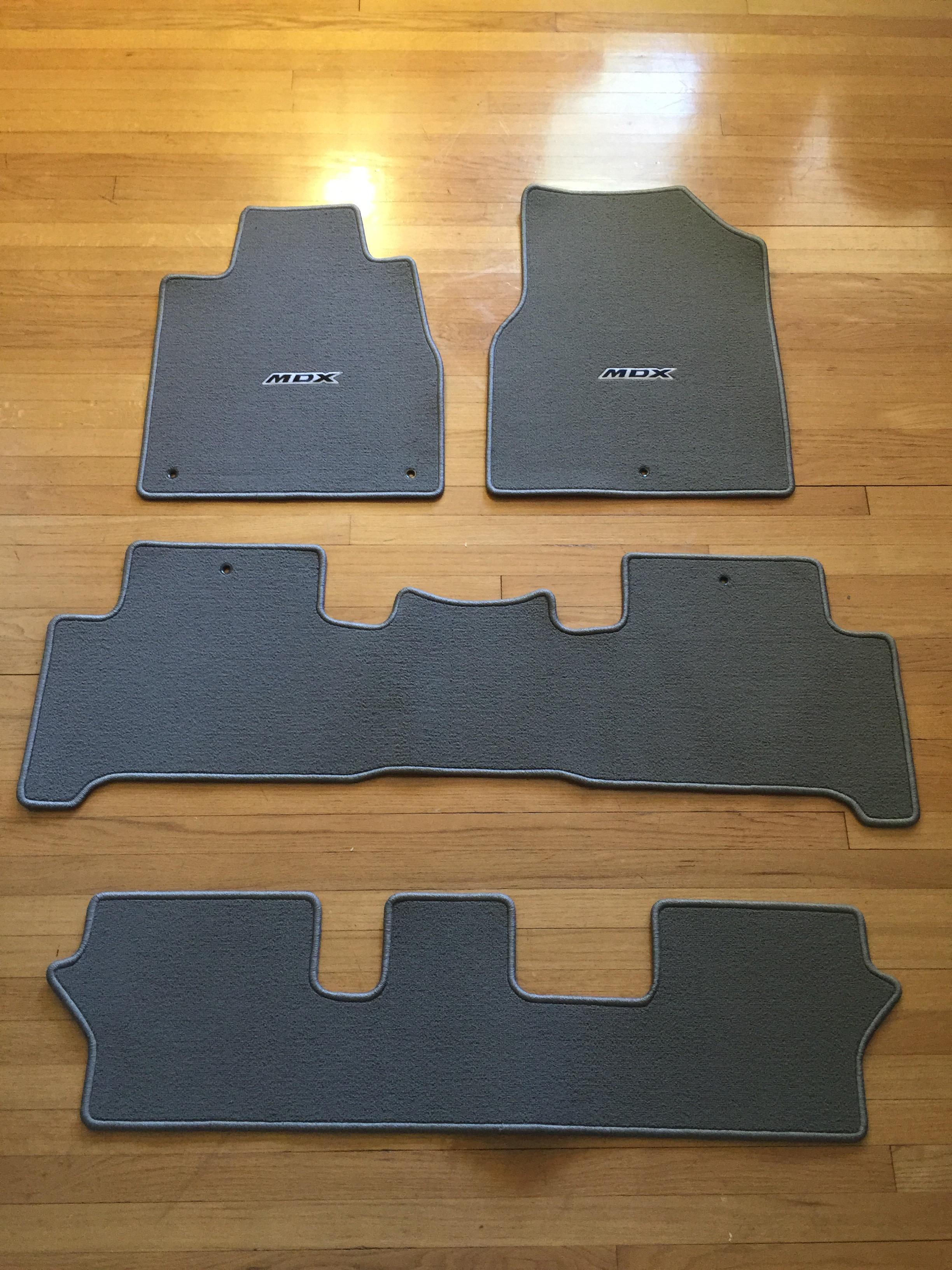 MDX OEM Carpet Floor Mat Set Acura MDX Forum Acura MDX - Acura mdx floor mats