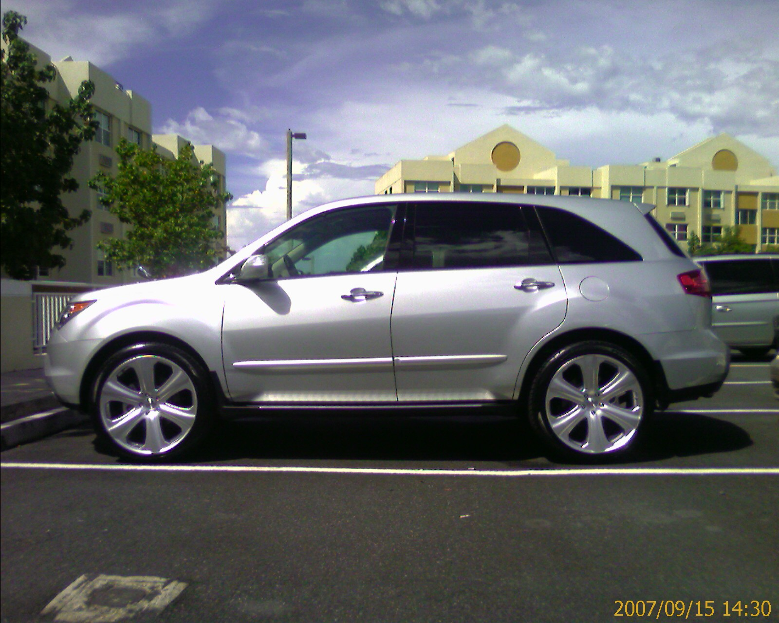 pics of 2nd generation mdx with aftermarket rims page 5 acura