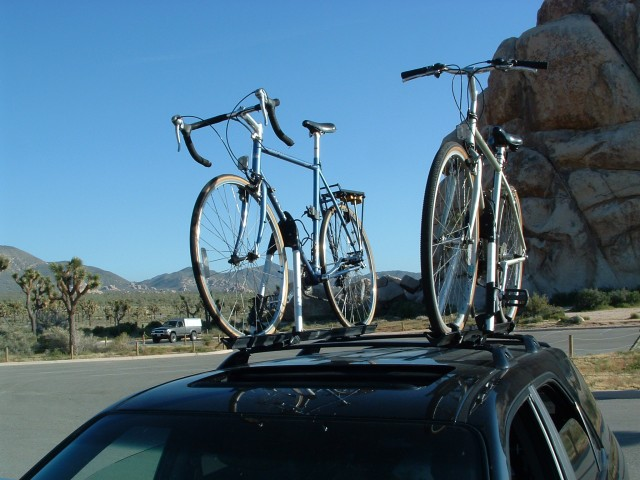 Roof Top Bike Rack PICS Acura MDX Forum Acura MDX SUV Forums - Acura mdx bike rack