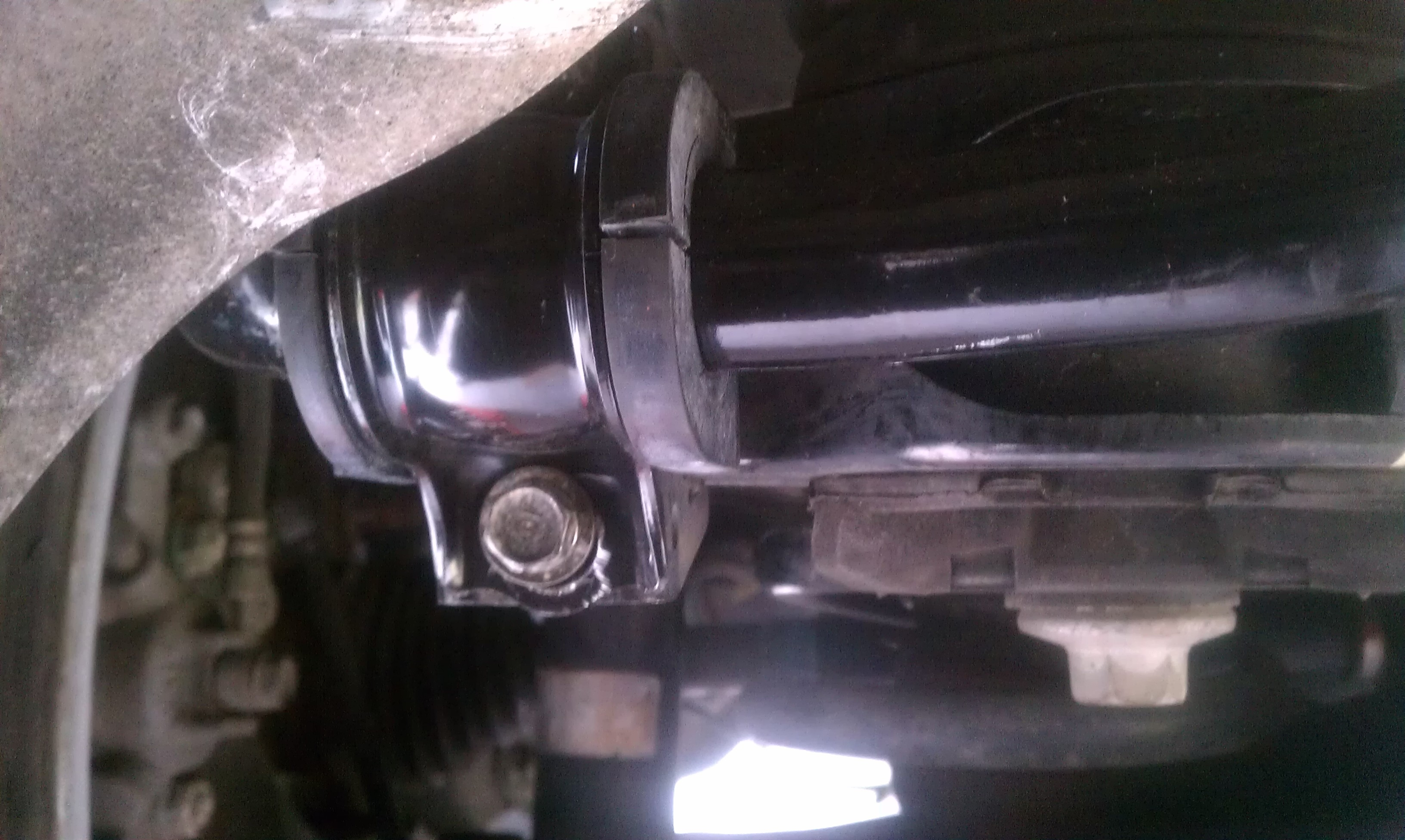 diy 2008 mdx rear sway bar upgrade from tech to sport advance