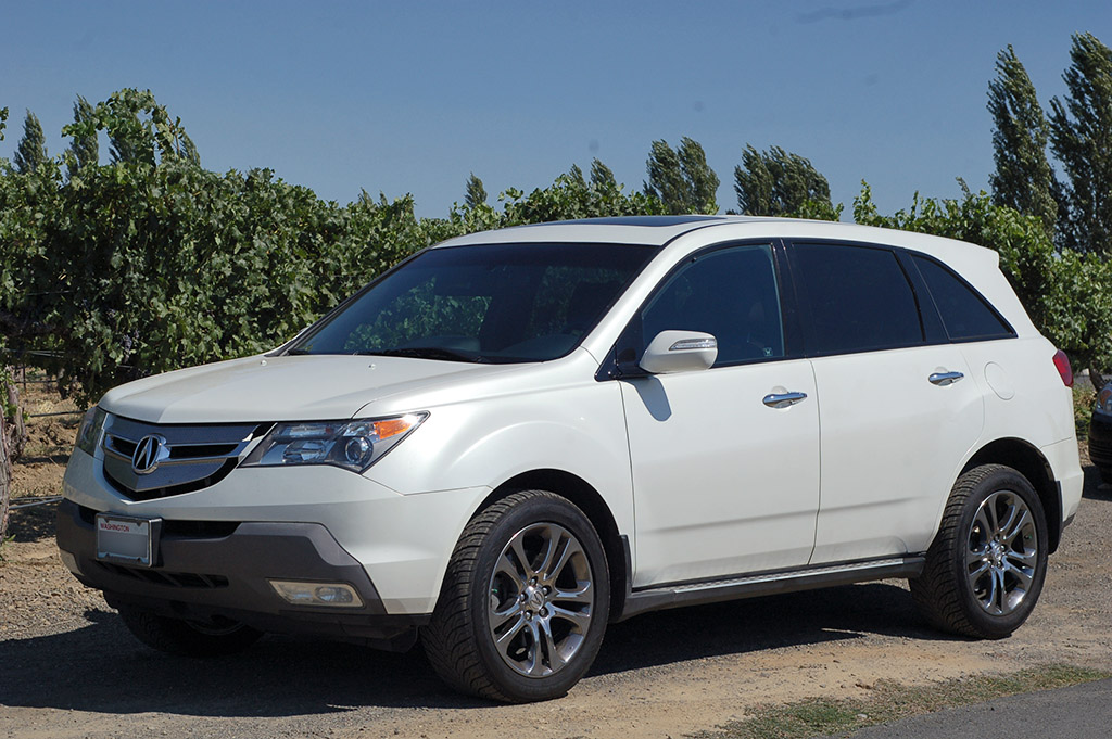 White MDX With Chrome OEM Wheels Acura MDX Forum Acura MDX - Acura mdx oem wheels