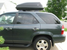 Roof Box With Acura Logo Available Now Page Acura MDX Forum - Acura mdx roof cargo box