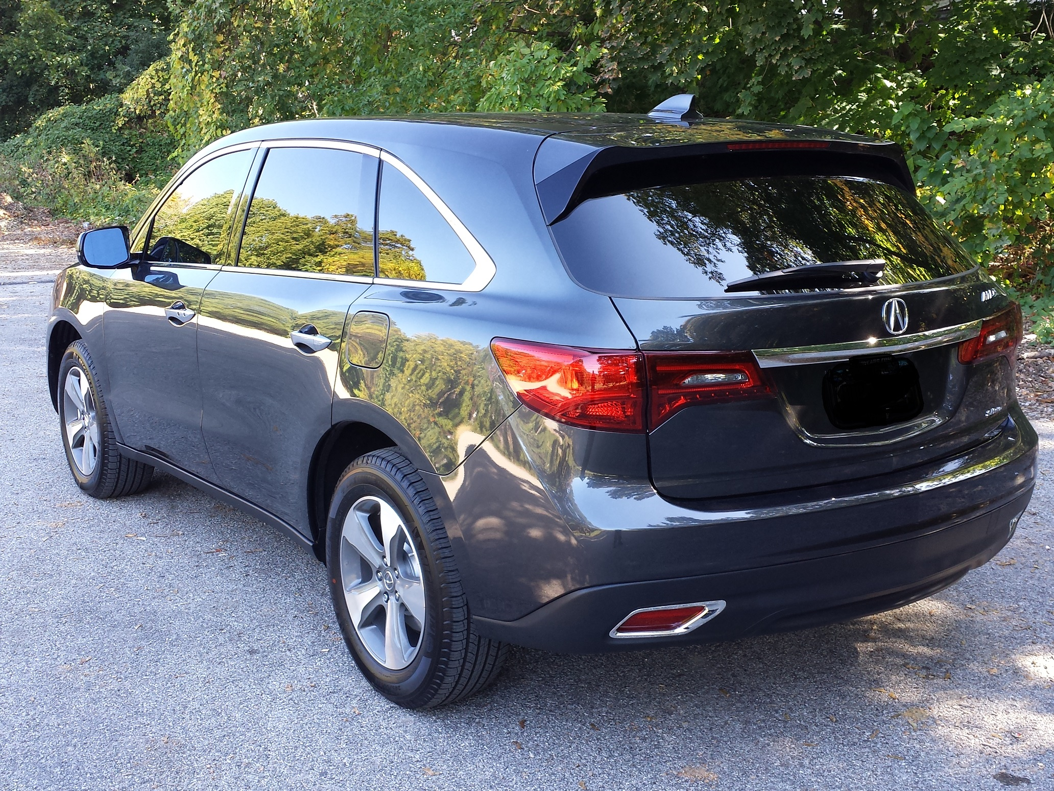 please post pictures of your new mdx page 4 acura mdx forum rh mdxers org acura  mdx mud guards 2014 acura mdx splash guard installation