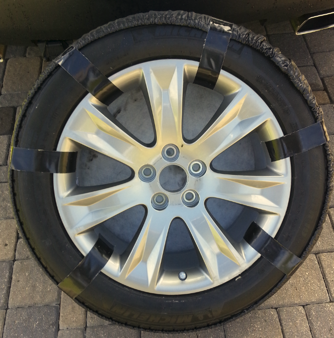2011 Acura Advance Full Spare Tire: 275/45R19
