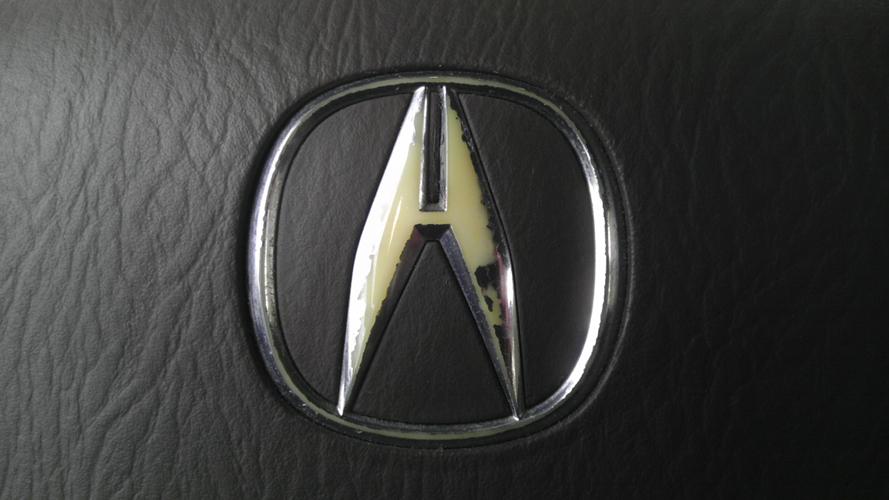 Painted Steering Wheel Emblem Acura MDX Forum Acura MDX - Acura badge