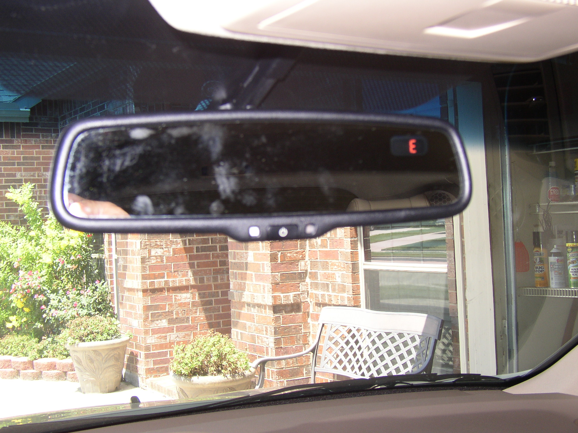 added rearview mirror w compass to tech acura mdx forum acura