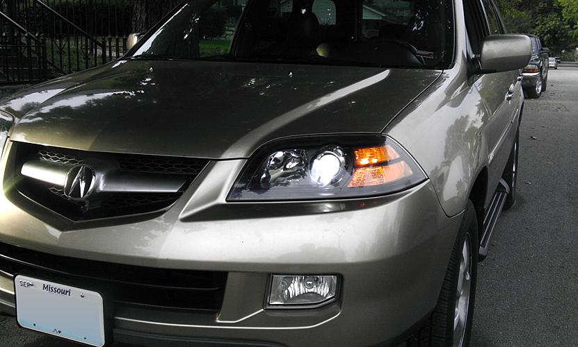 05 photo shopped headlights (black) acura mdx forum acura mdx Acura MDX Headlight Bulb click image for larger version name paintedhdlts2 jpg views 2978 size 361 8