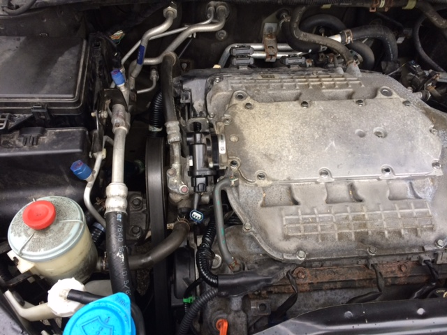 help just completed timing belt replacement and receiving error