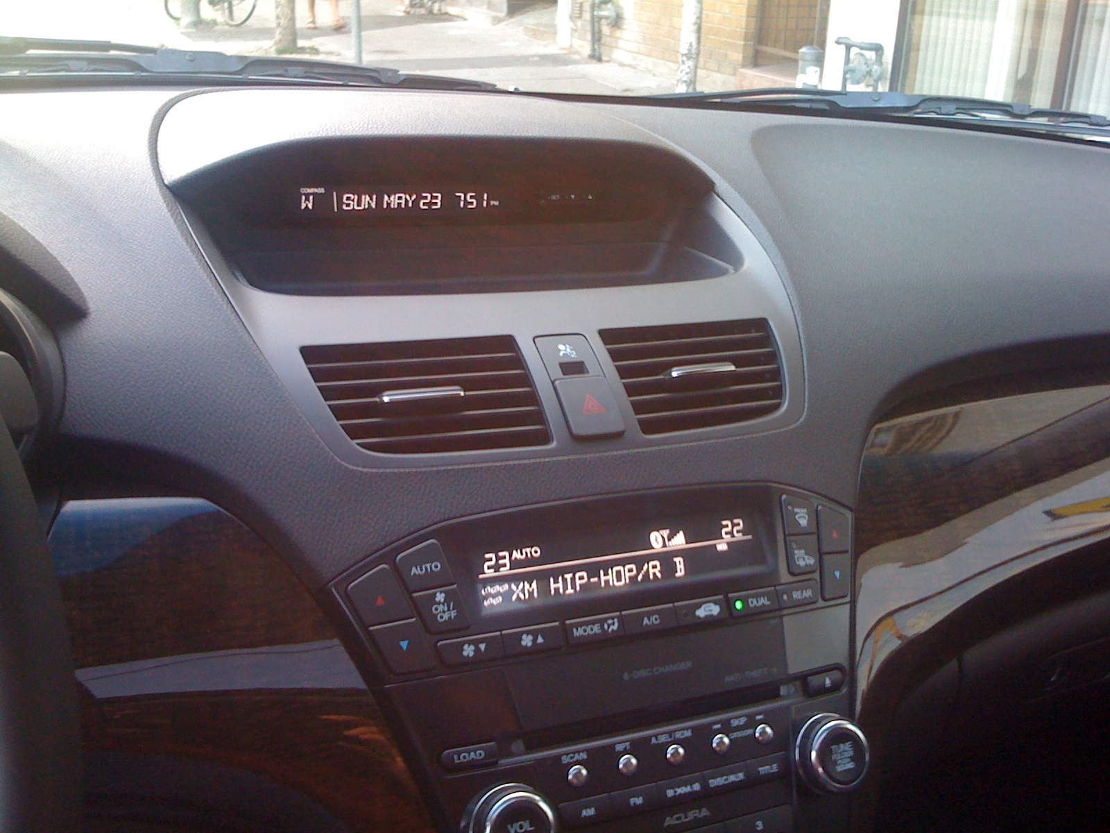 2010 mdx base model dashboard pictures acura mdx forum acura