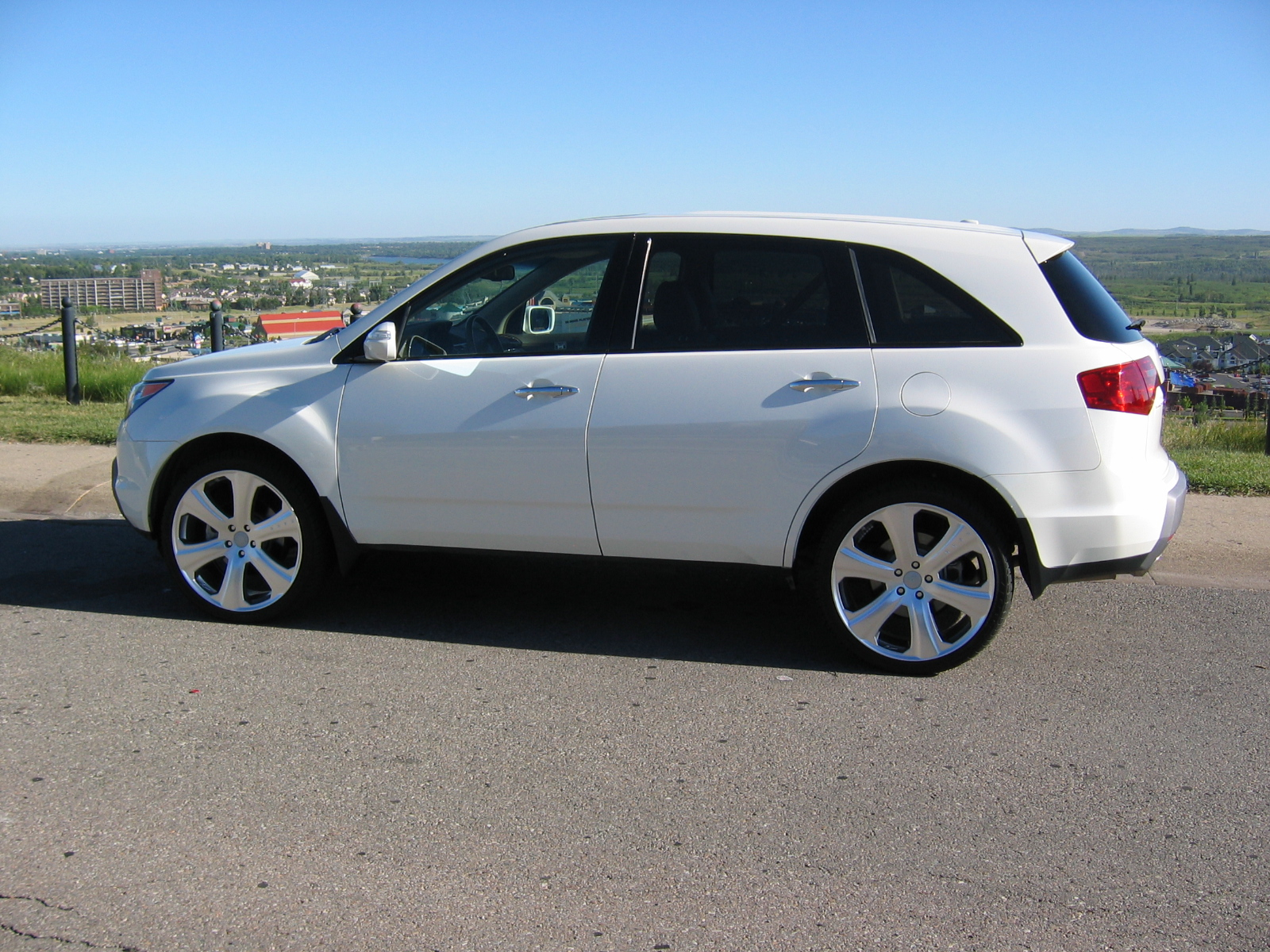 2007 mdx sitting on 22 s acura mdx forum acura mdx suv forums