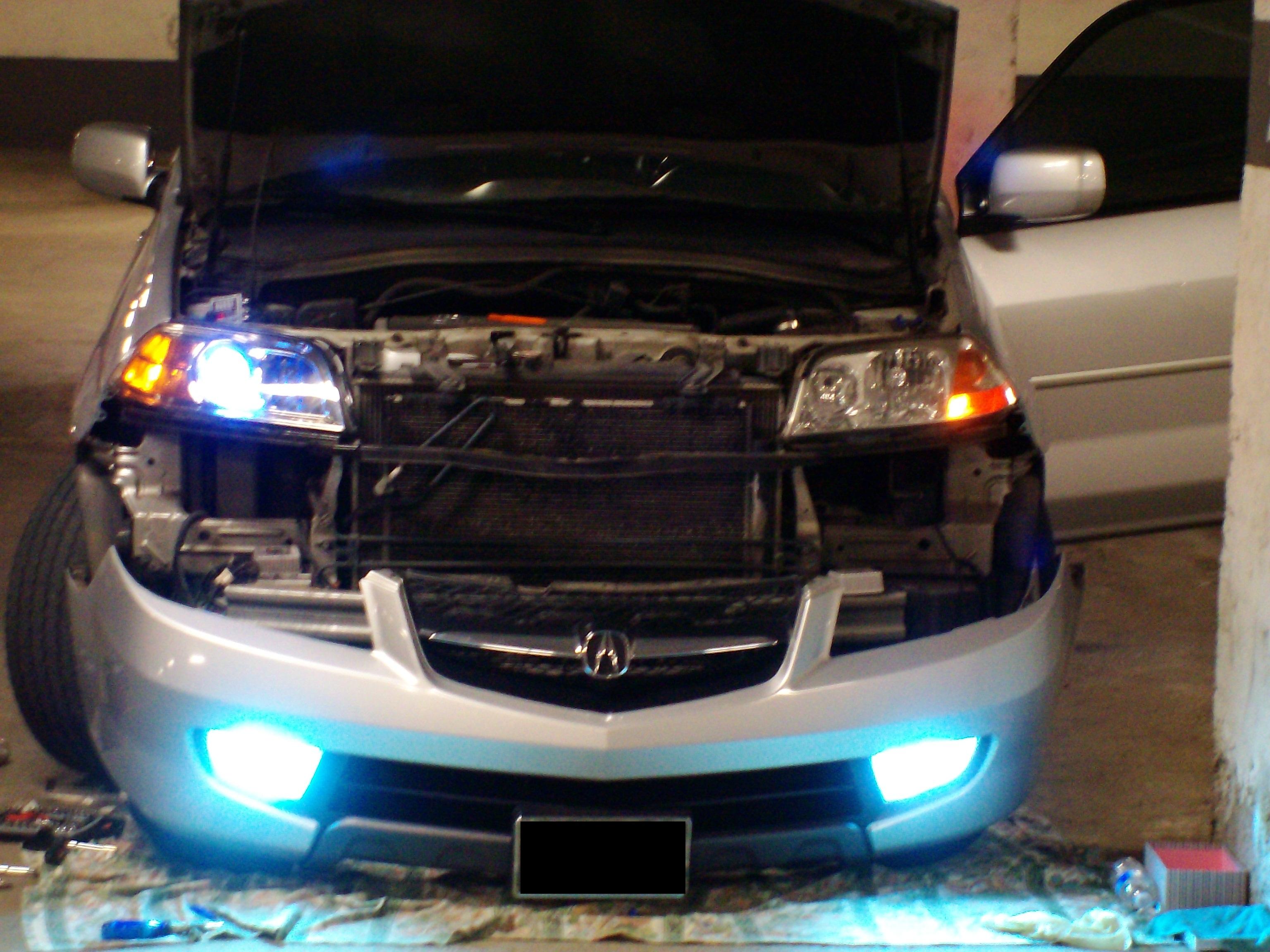 Projectors On MDX Acura MDX Forum Acura MDX SUV Forums - 2006 acura tl fog lights