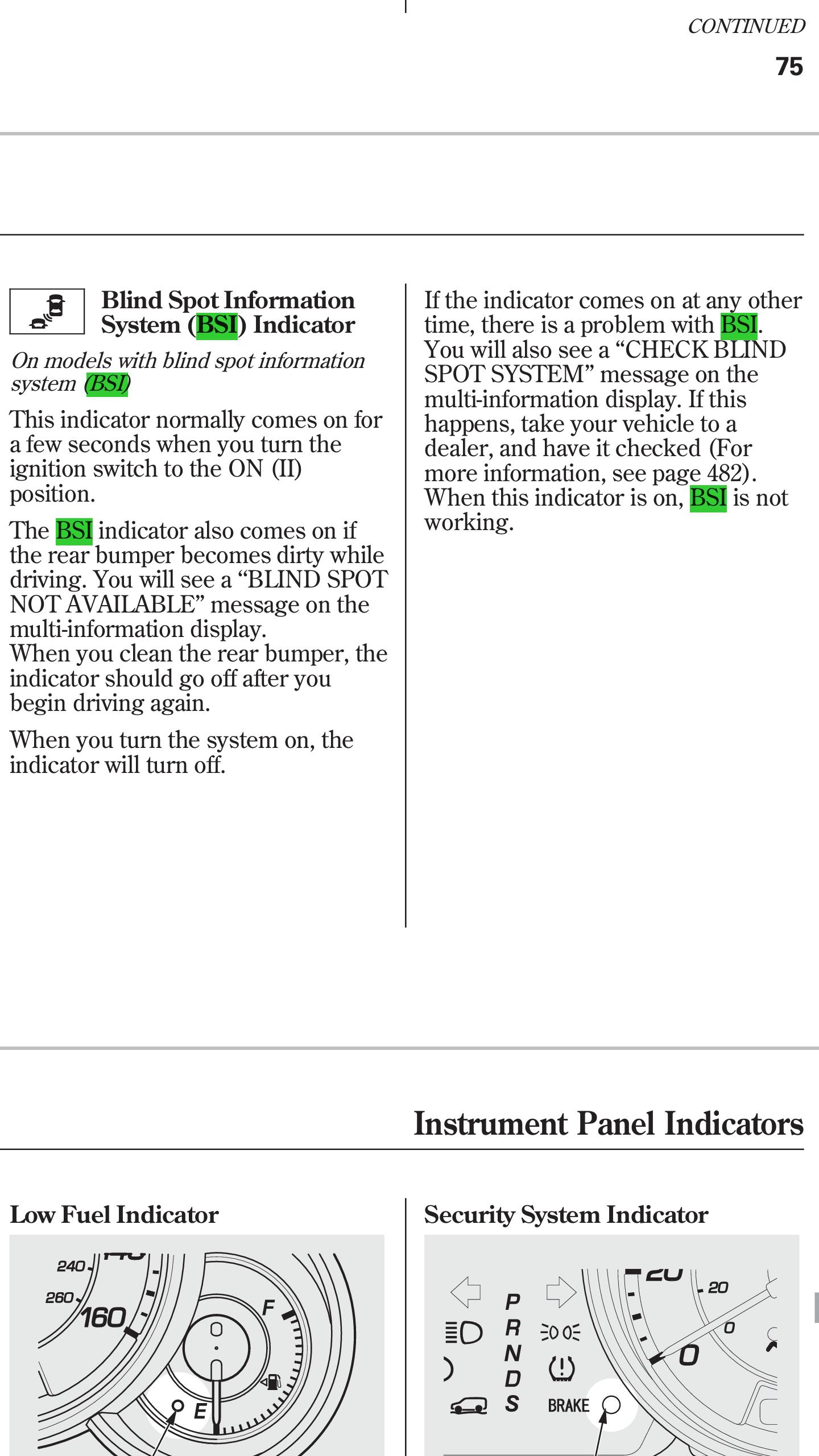 Stealth Golf Cart Wiring Diagram : Blind spot information wiring diagram acura mdx