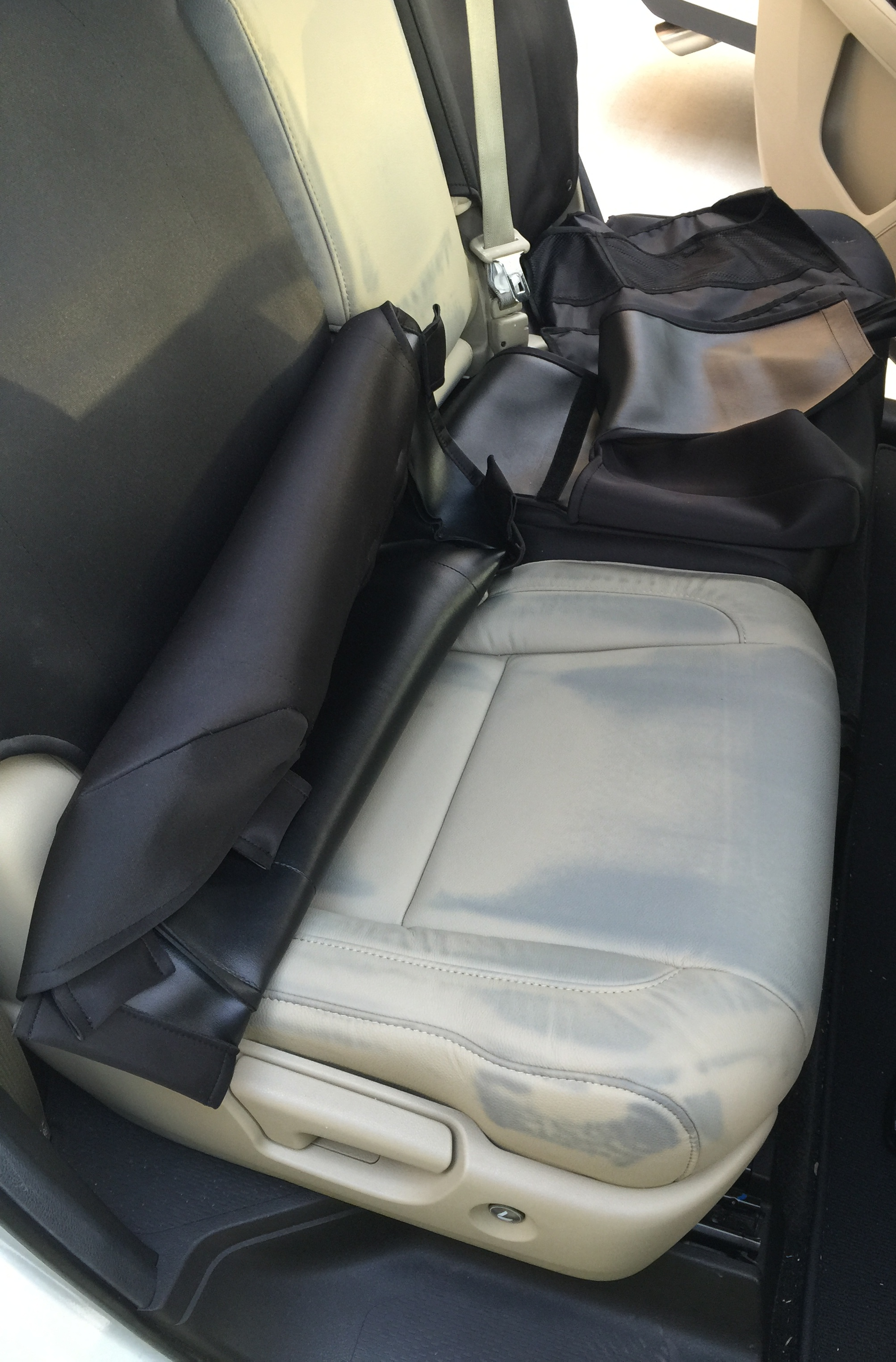 Leather Seats Ruined By OEM Seat Cover Acura MDX Forum Acura MDX - Acura mdx seat covers