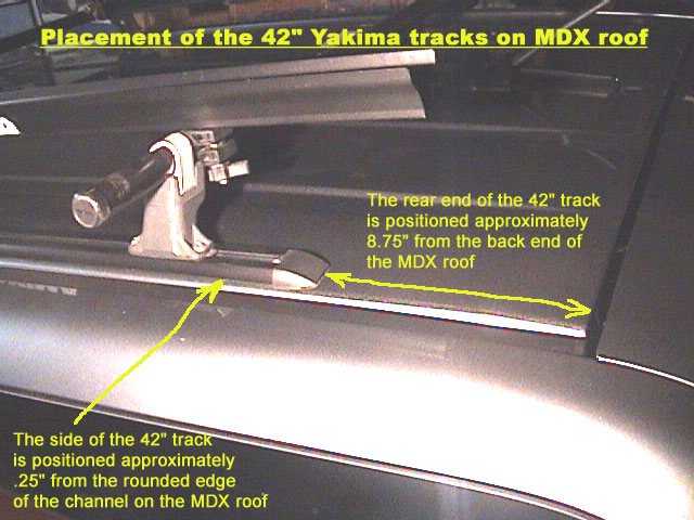 Yakima tracks / roof rack installation - a success - Page ...