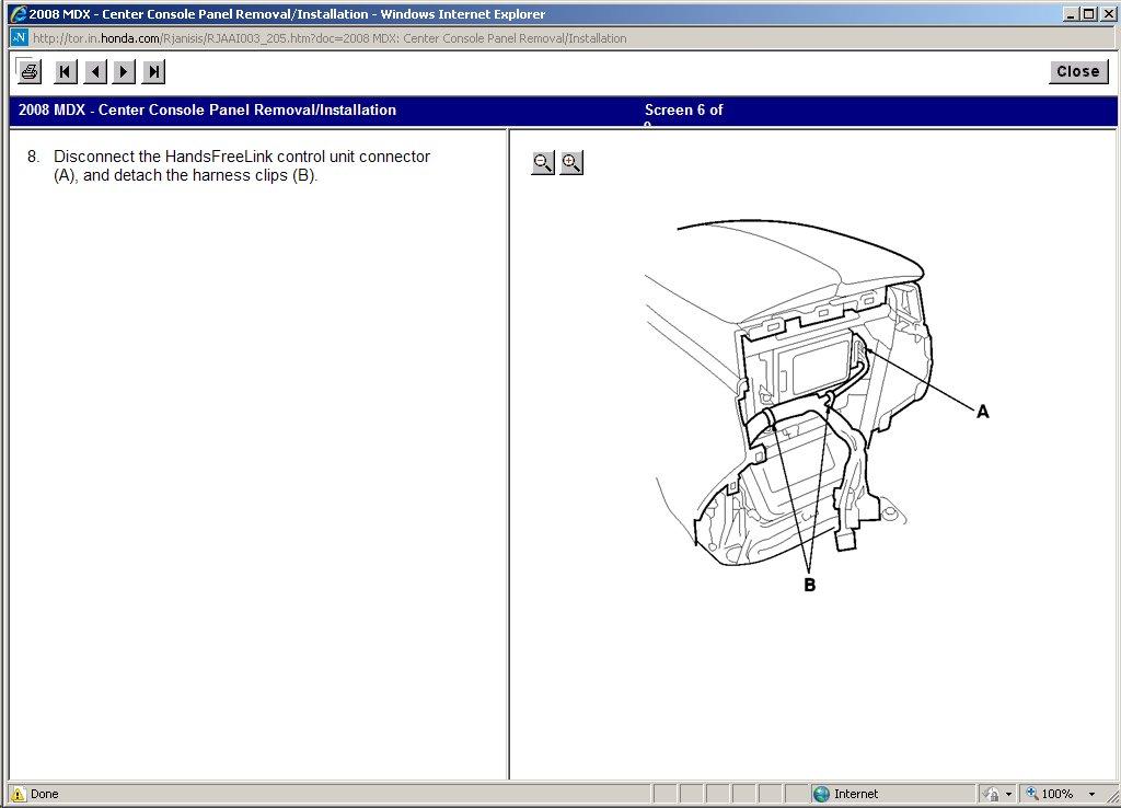Center Console Panel Removal - MDX 07 Base - Acura MDX Forum : Acura
