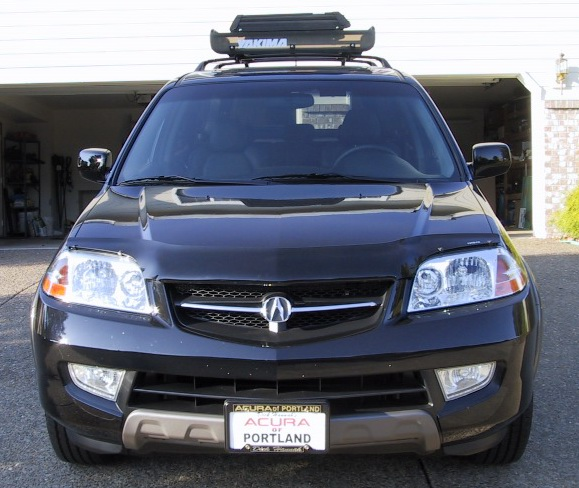 Black MDX With Yakima Load Warrior