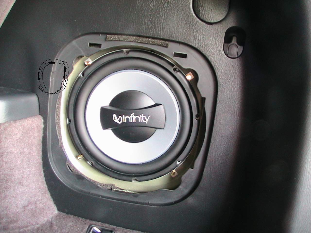 D Mdx Rear Subwoofer Replacement Woofer