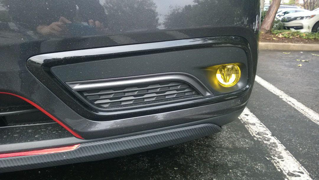 Acura MDX Factory LED Fog Light Set Front And Rear - Acura mdx led fog lights