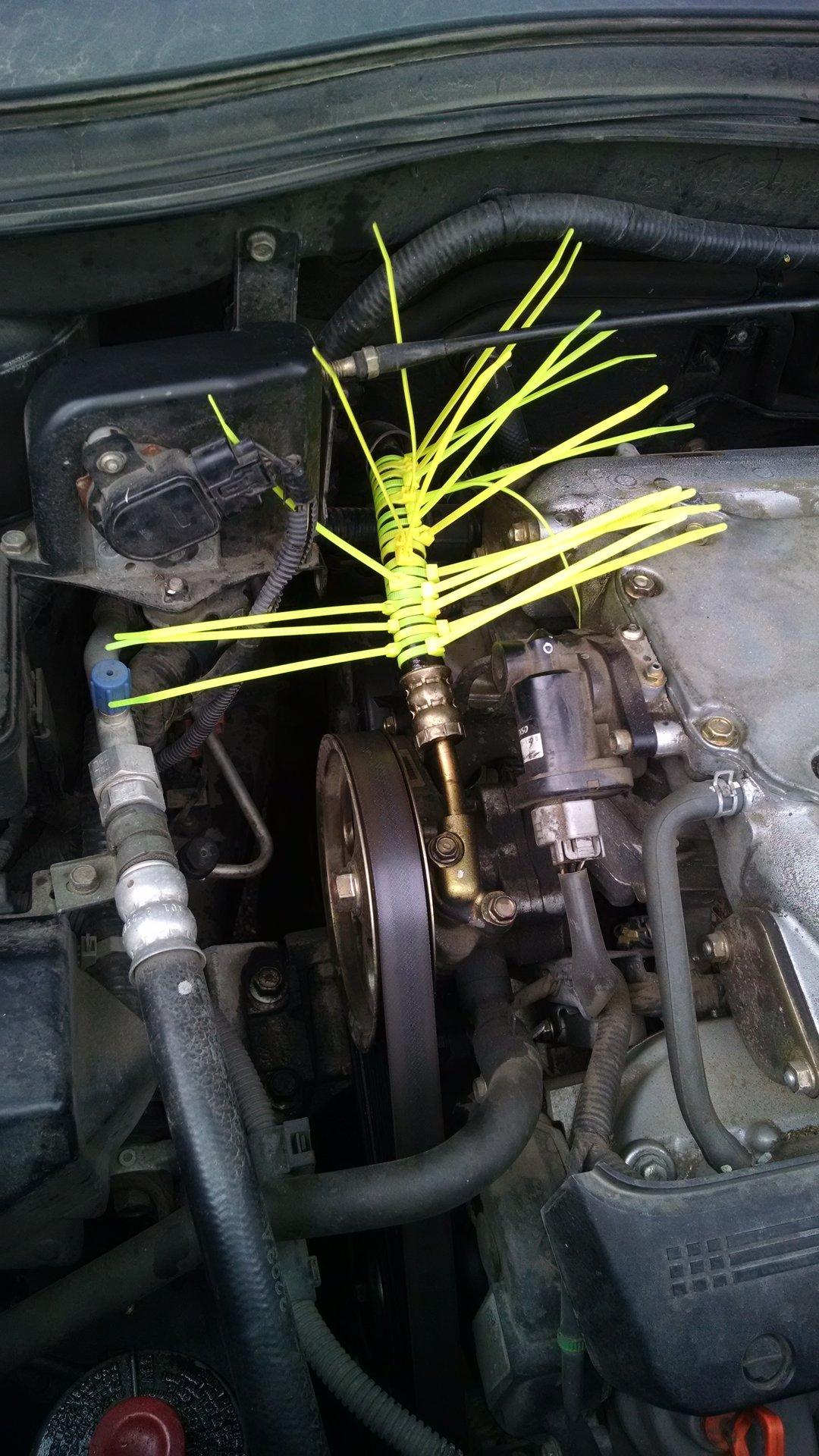 Power Steering Hose Leak At Fitting