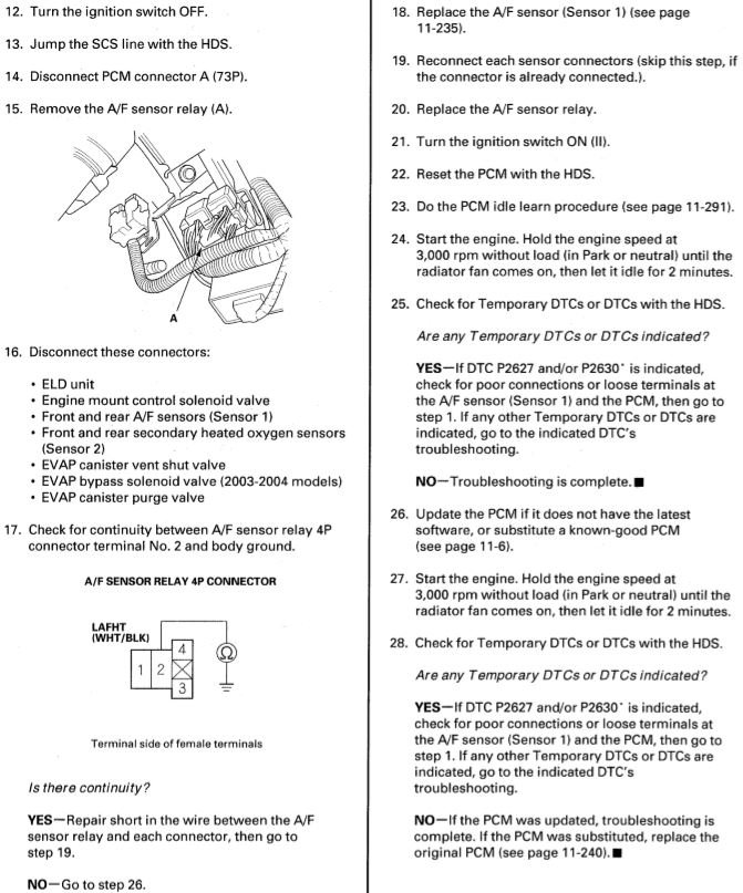 P2627 Hard Fault   Acura MDX SUV Forums