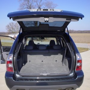 2004 Acura MDX - Touring - Rear Open