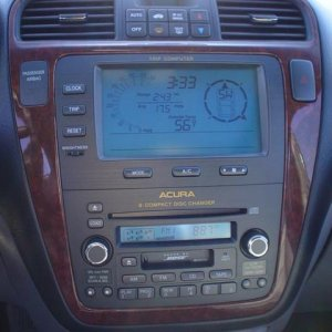 2004 Acura MDX - Touring - Instruments