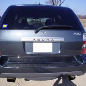 2004 Acura MDX - Touring - Rear Closed