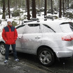 Me next to the MDX